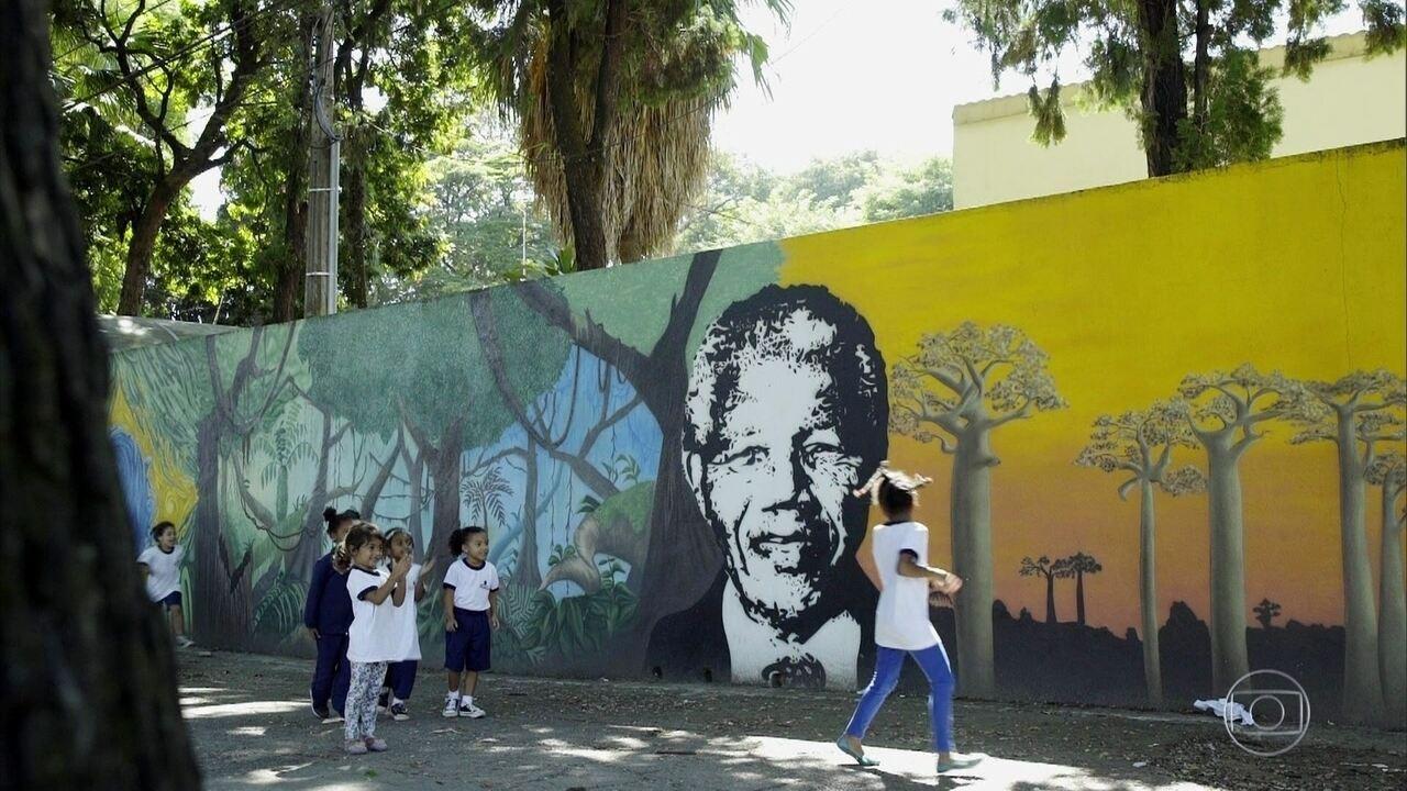 Conheça o trabalho realizado na Escola Municipal de Educação Infantil Nelson Mandela