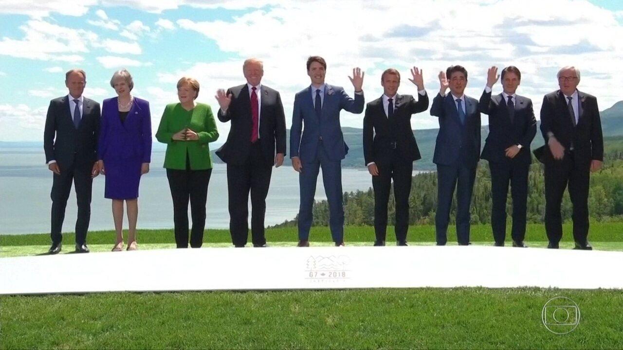 Reunião do G7 começa no Canadá