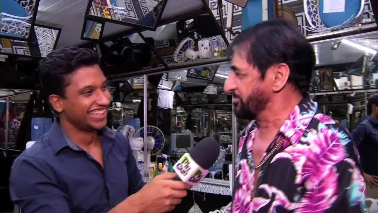 Rovany Araújo conheceu um pouco sobre a profissão de barbeiro