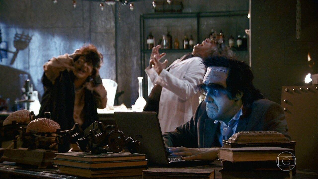 Frankenstein das Redes Sociais