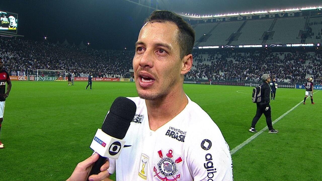 Rodriguinho pede concentração ao Corinthians e lamenta dificuldades ... f90febaffb0fb