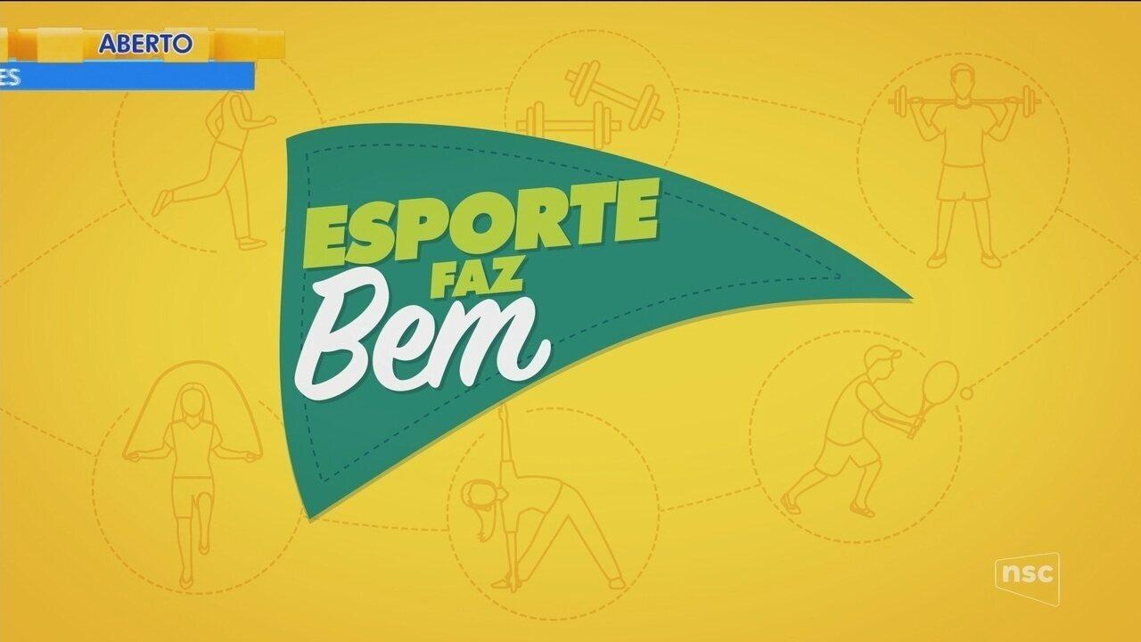 Com 'Esporte Faz Bem', NSC TV arrecada materiais esportivos para entidades sociais