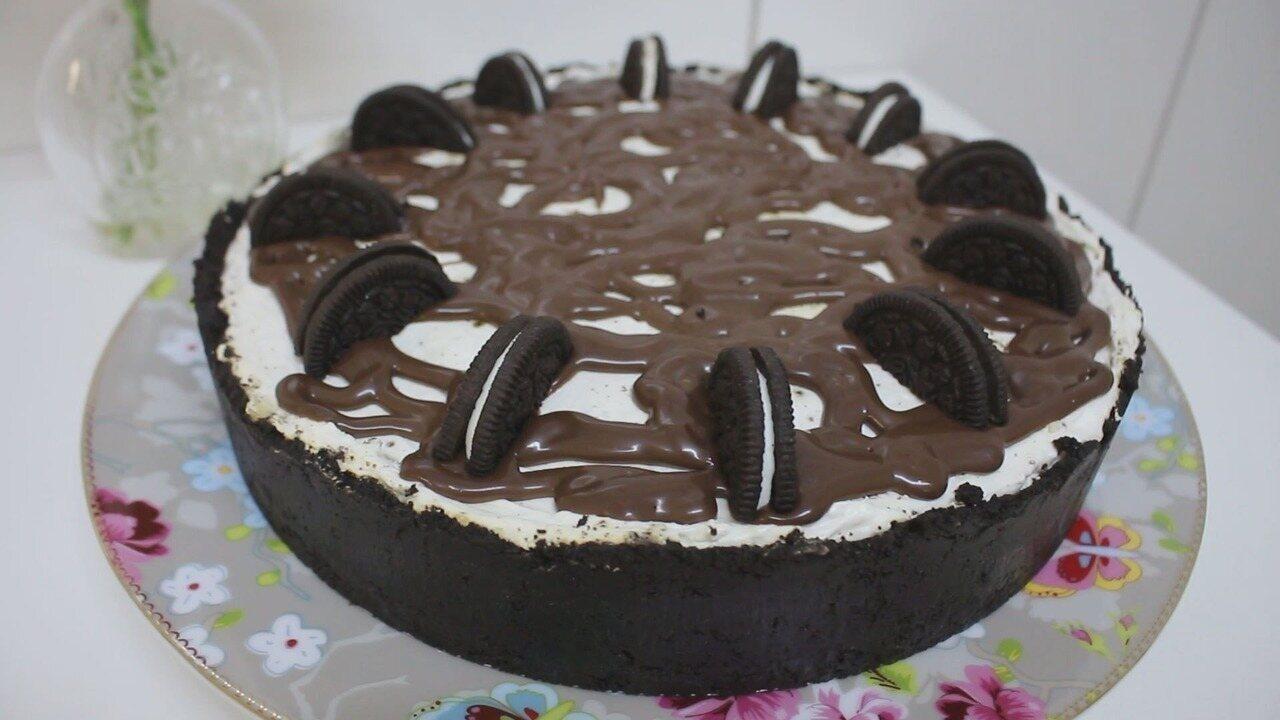 Culinária #013: Aprenda a fazer um cheesecake de bolachas