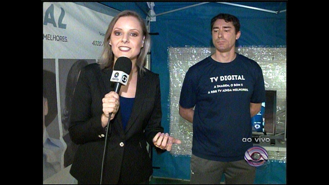 Ao vivo explicações sobre o desligamento do Sinal Analógico de TV