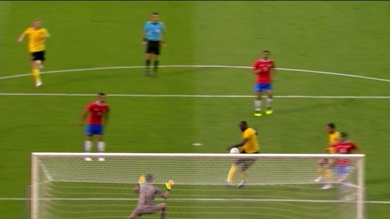 Veja o primeiro gol de Lukaku contra a Costa Rica