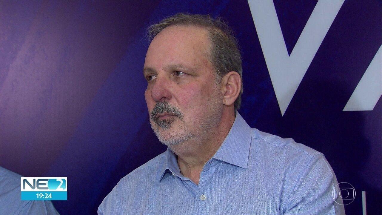 Armando Monteiro Neto (PTB) lança pré-candidatura ao governo de Pernambuco