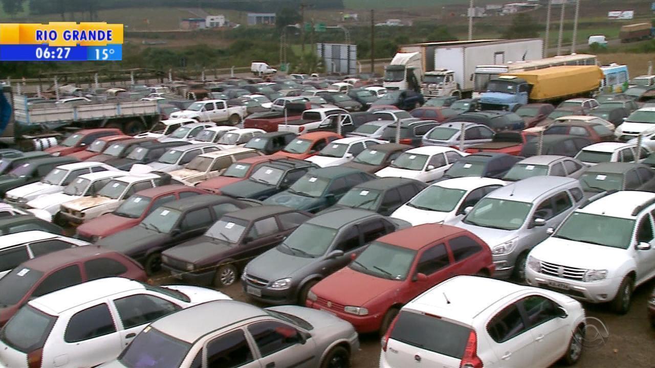 Leilões do Detran RS ofertam veículos em Erechim