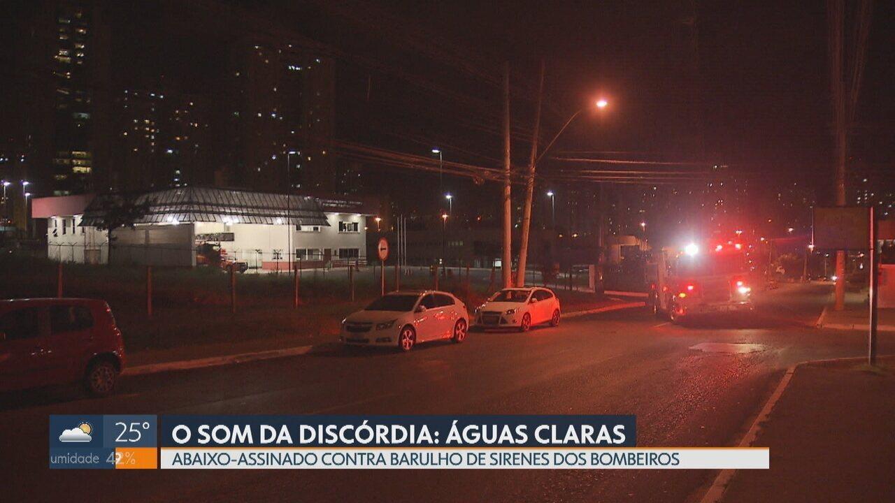 Moradores de Águas Claras reclamam de sirene do Corpo de Bombeiros