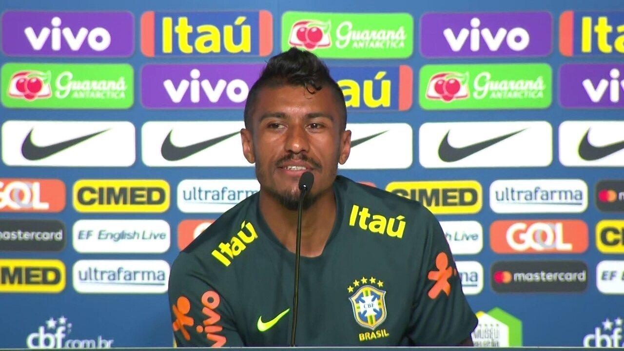 Paulinho analisa jogadores candidatos a titulares: