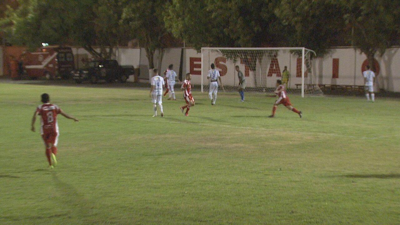 Um dos últimos gols de Rigoberto no Estadual foi em 2015, pelo Baré