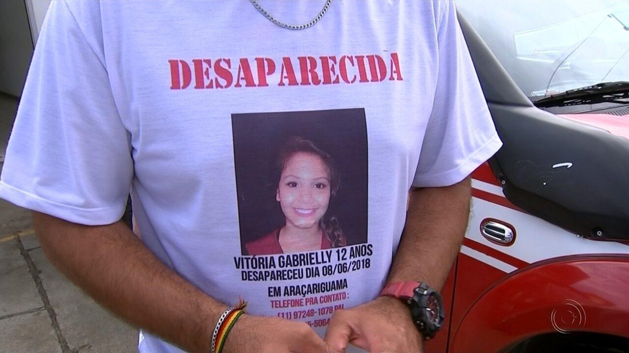 Equipes fazem buscas para tentar localizar adolescente de 12 anos em Araçariguama