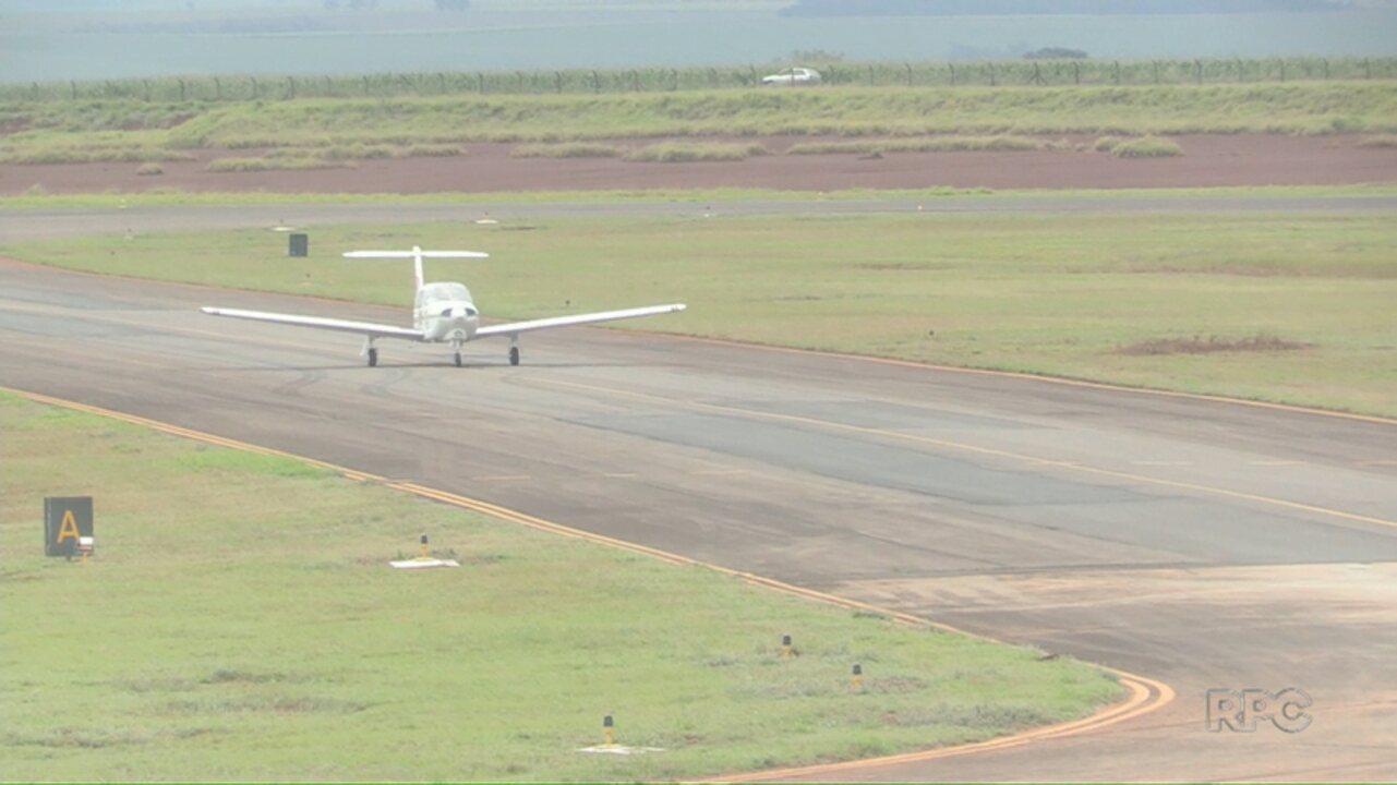 Prefeitura anuncia licitação para obras no aeroporto de Maringá