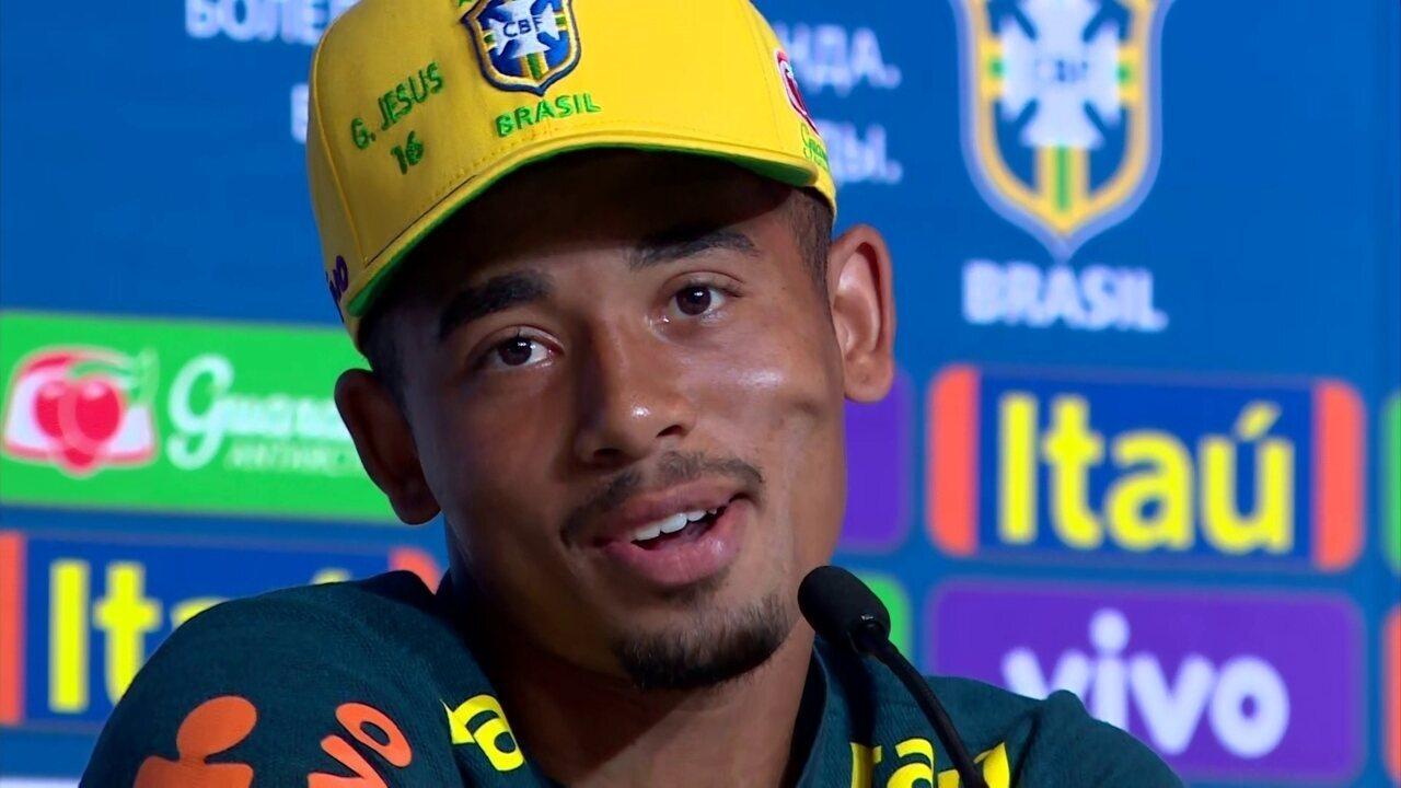 Gabriel Jesus fala de relação com Neymar: