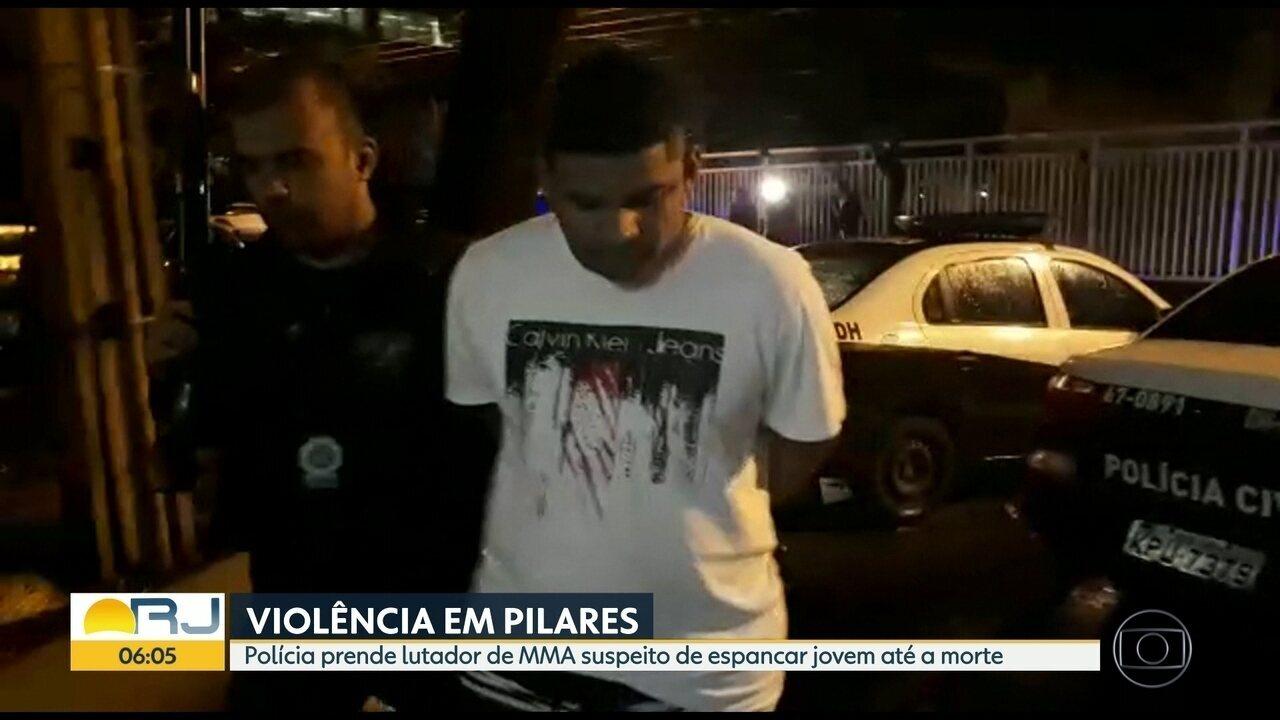 Polícia prende lutador de MMA suspeito de espancar jovem até a morte