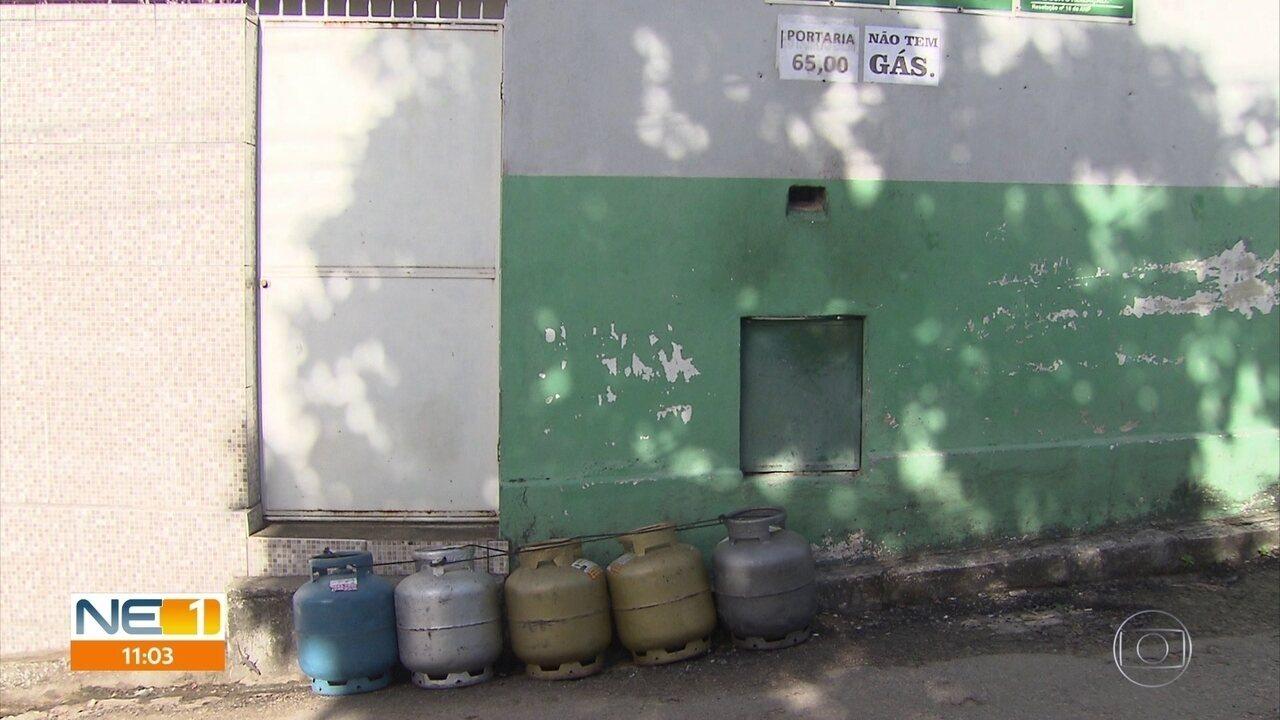 Abastecimento de gás de cozinha continua irregular no Grande Recife