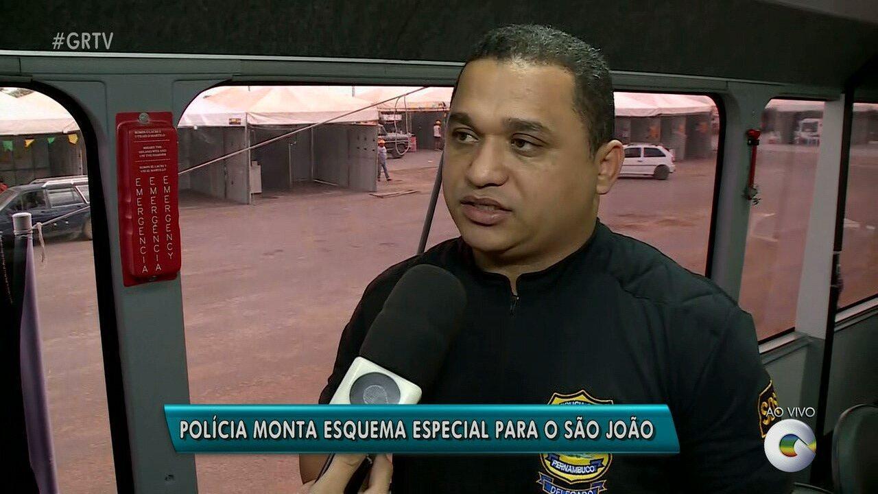 Policía monta esquema especial para São João de Petrolina