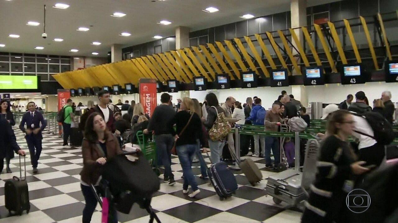 Problema em radar afeta voos em Viracopos, Congonhas e Guarulhos