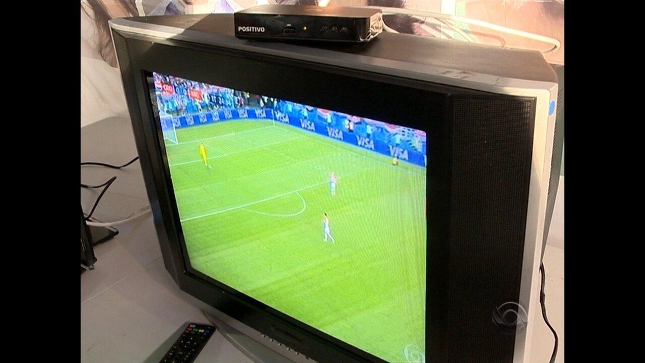 Ação da RBS TV esclarece dúvidas sobre a TV Digital em Santa Maria