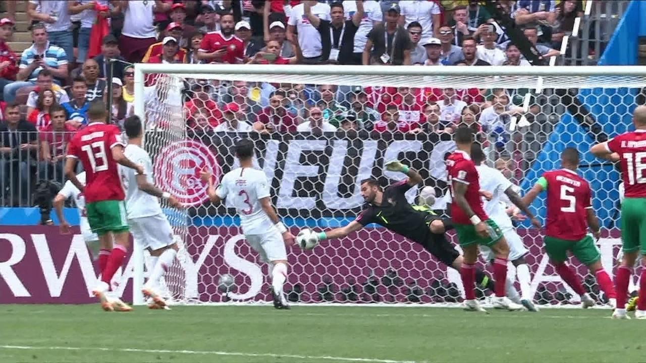 Melhores momentos de Portugal 1 x 0 Marrocos pela Copa do Mundo 2018