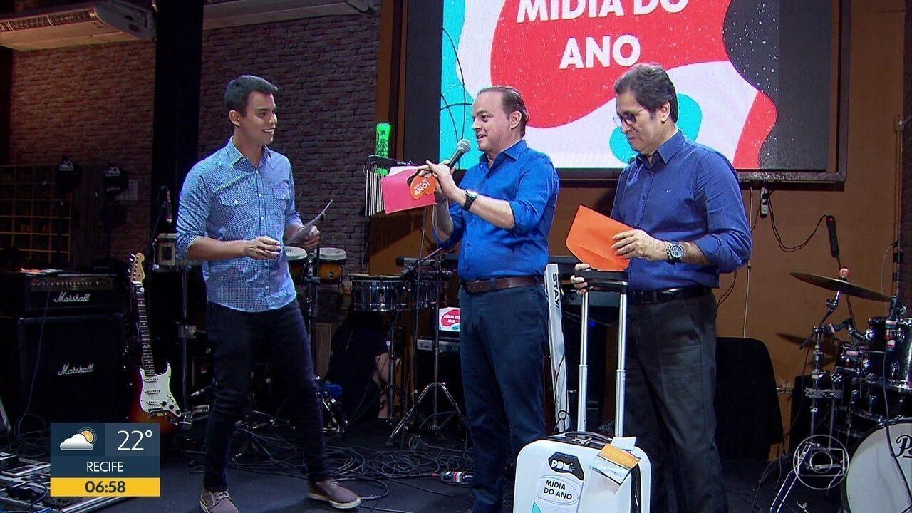 TV Globo premia os melhores profissionais de mídia em Pernambuco