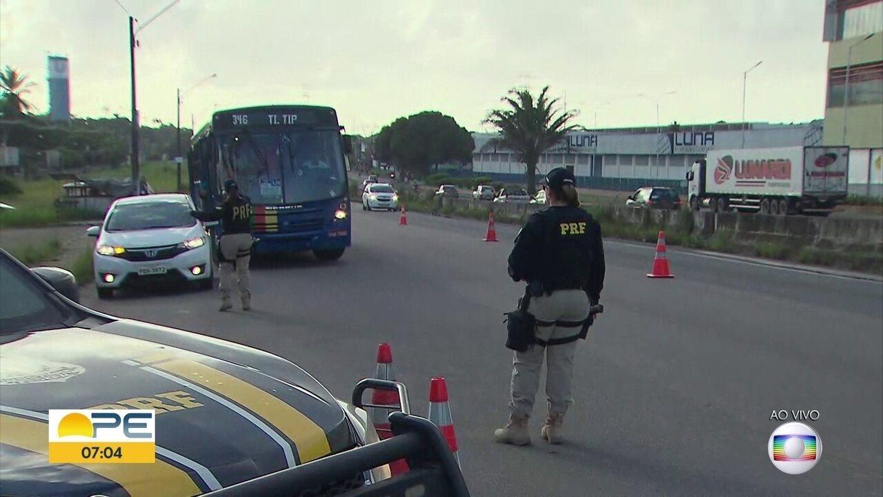Polícia Rodoviária Federal intensifica ações nas estradas no São João