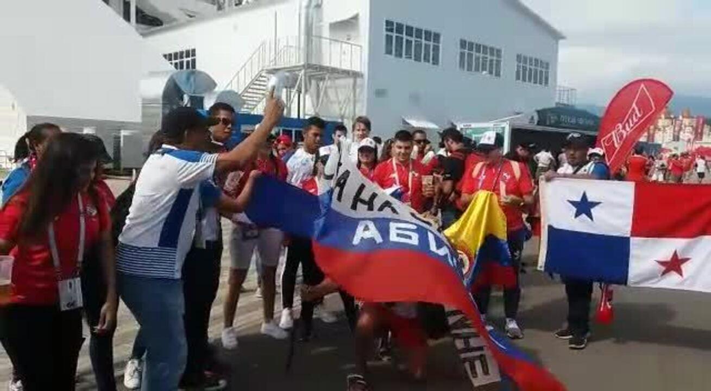 Música da torcida do Panamá na Copa