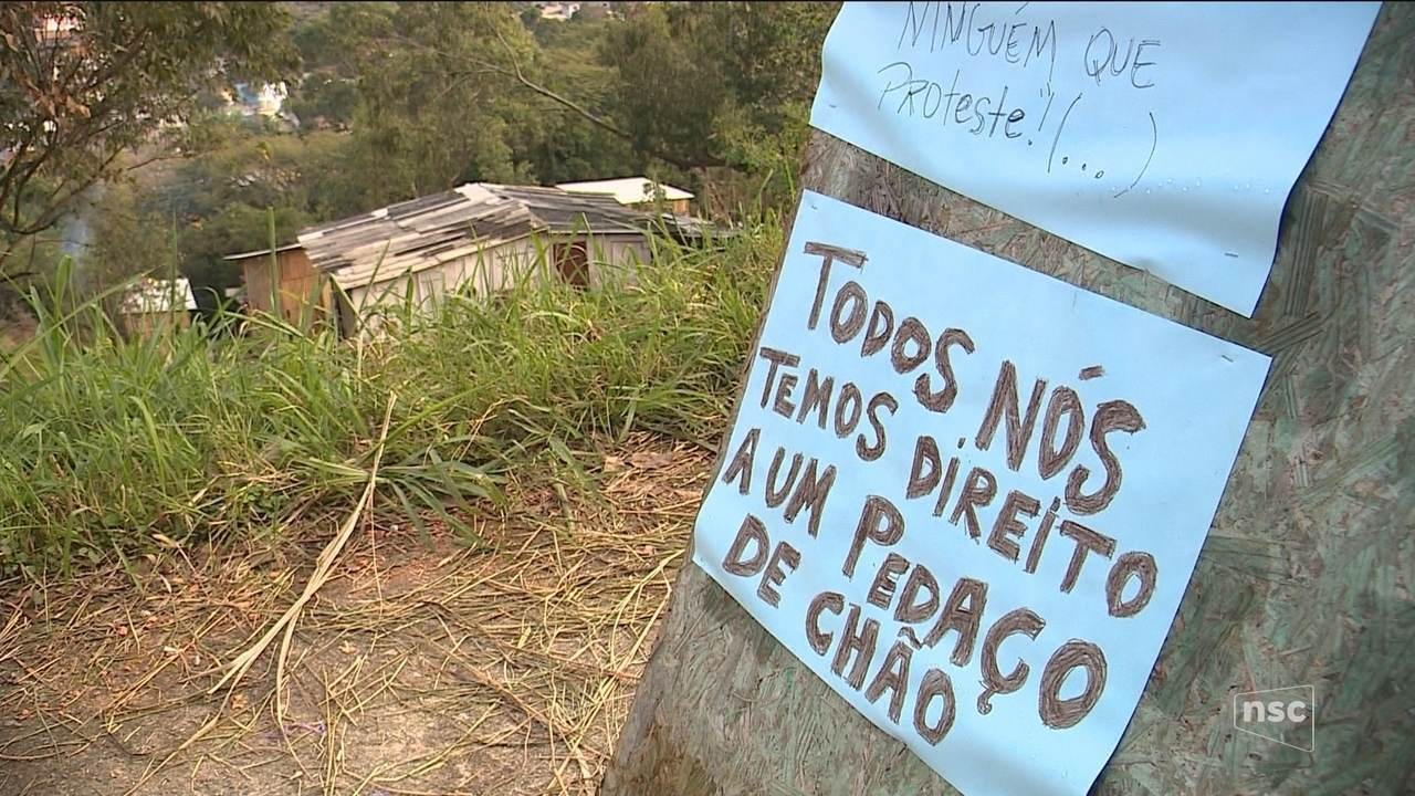 Cresce o número de ocupações irregulares na capital pela falta de moradia de qualidade
