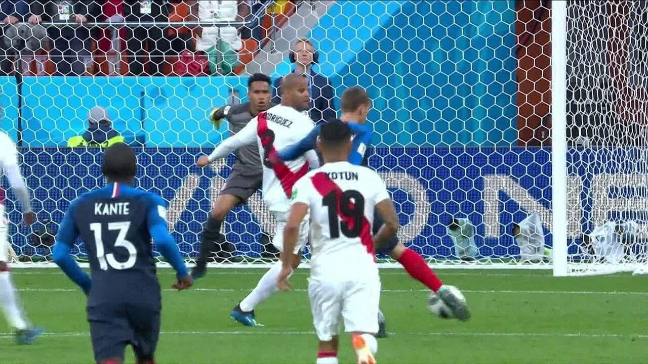 Melhores momentos de França 1 x 0 Peru pela Copa do Mundo 2018