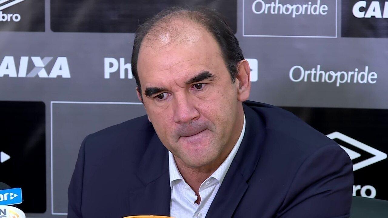 Veja como foi a entrevista de Ricardo Gomes, novo diretor-executivo de futebol do Santos