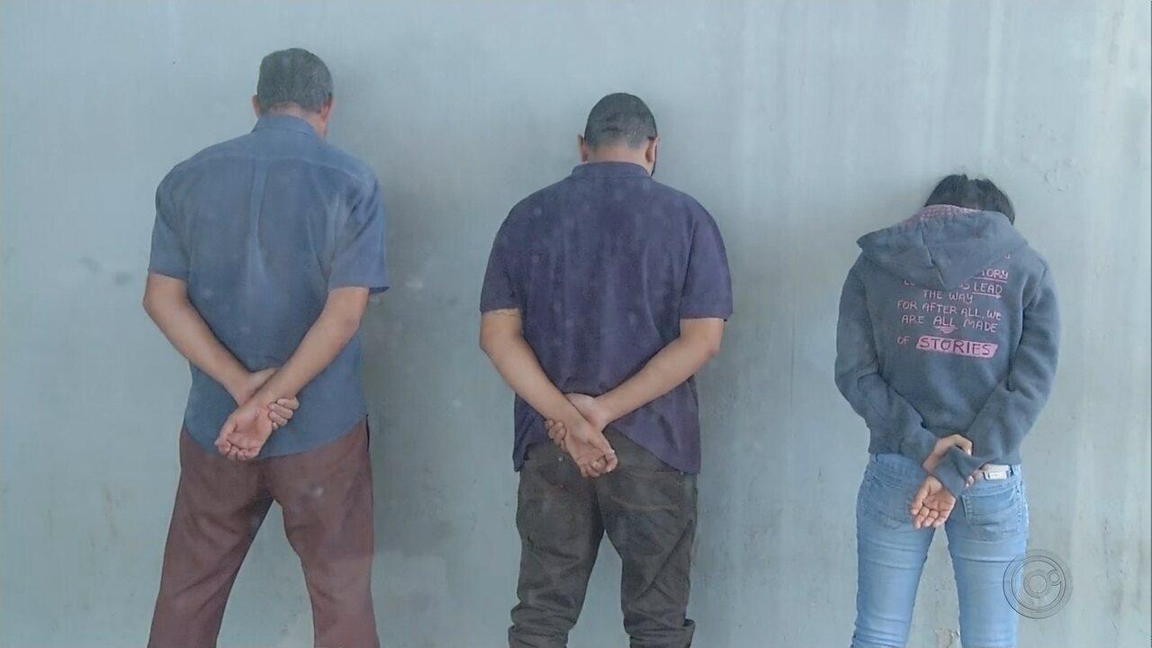 Trio de estelionatários é preso em Assis após polícia encontrar maconha em carro