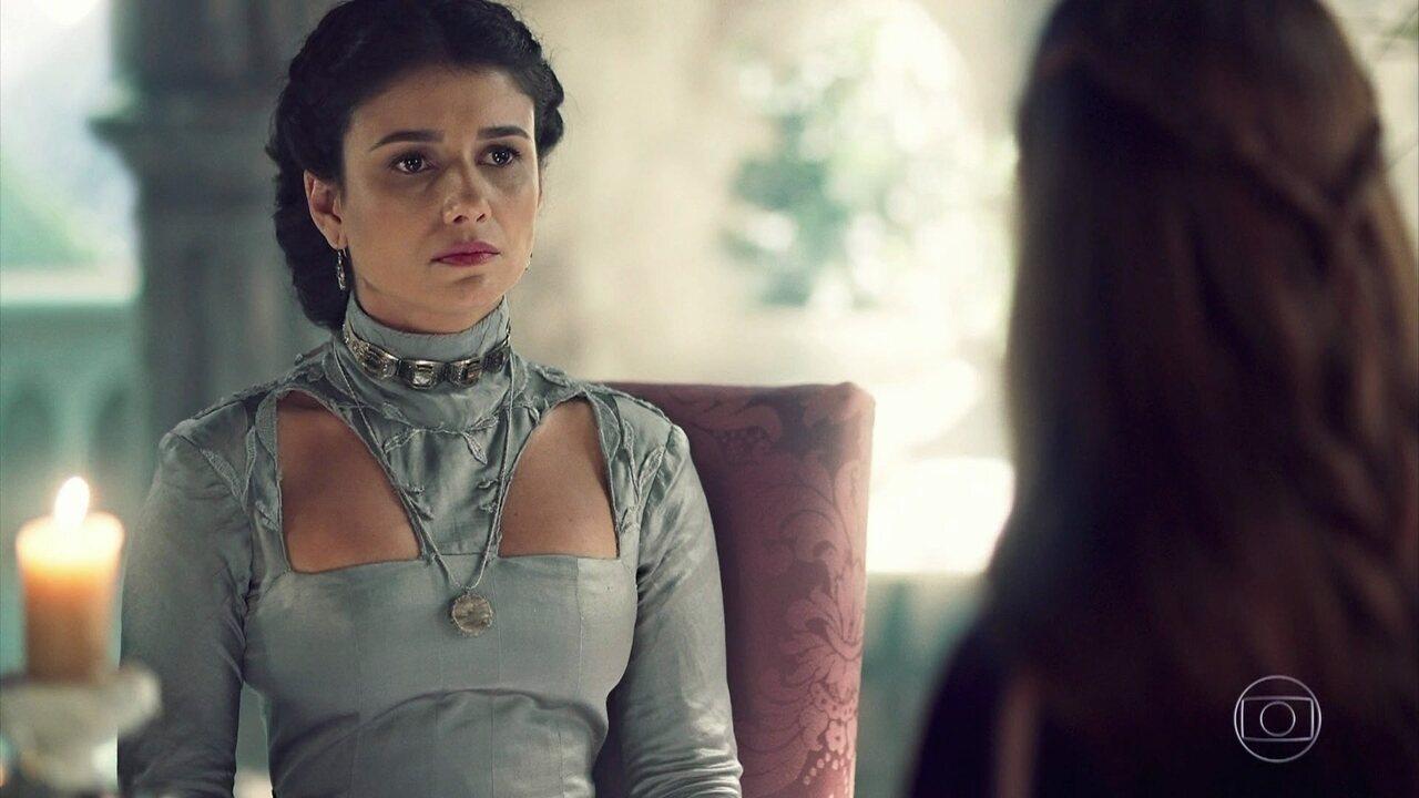 Amália conhece a princesa de Lúngria