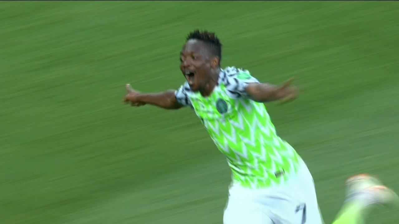 c336524f45 Os gols de Nigéria 2 x 0 Islândia pela Copa do Mundo