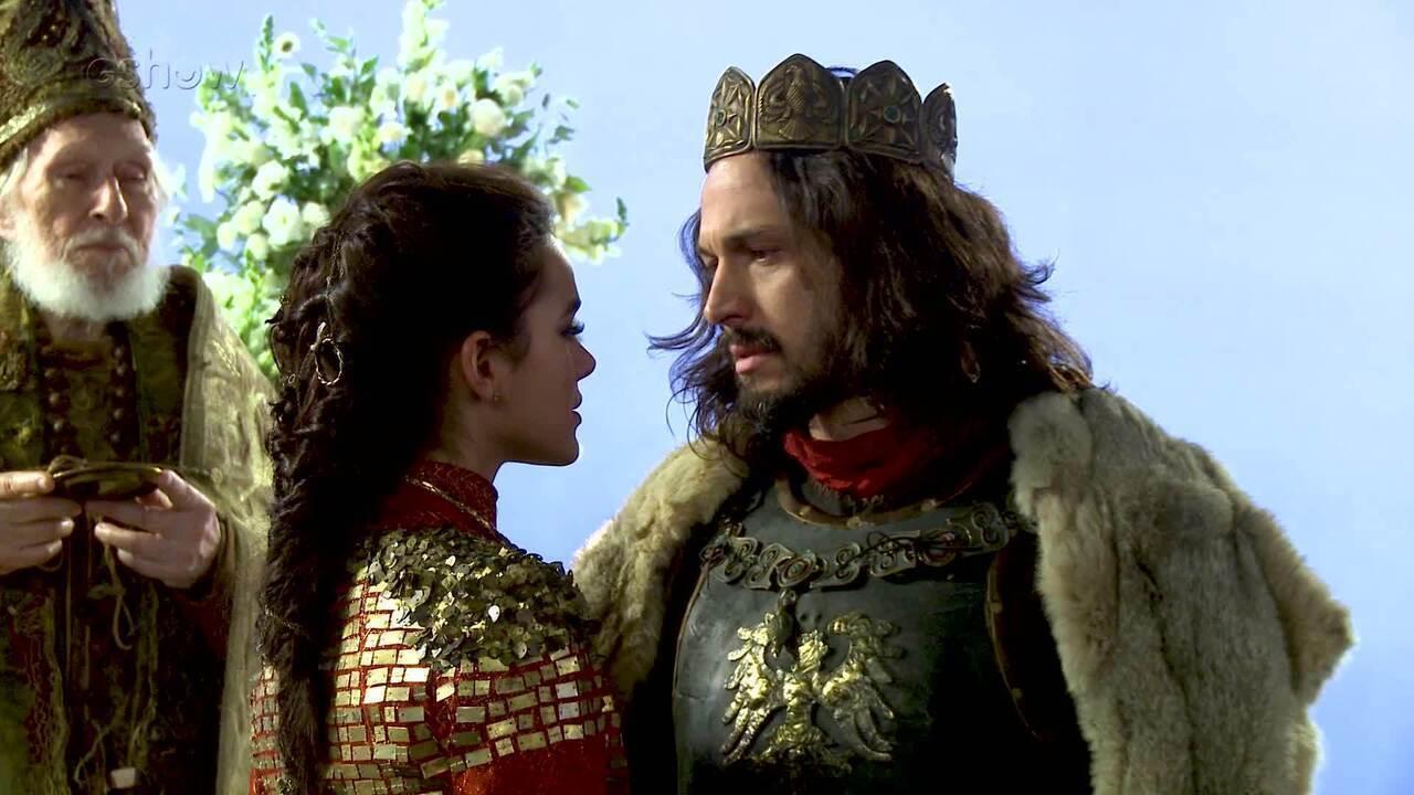 Confira os bastidores do casamento entre Catarina e Afonso