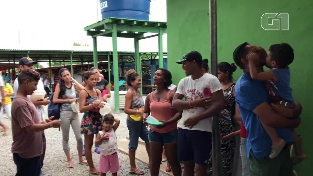 A busca dos venezuelanos por um novo lar em Roraima