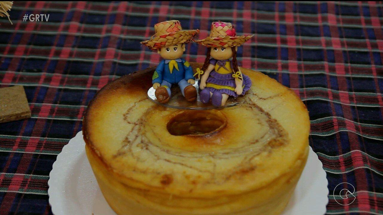 Aprenda a preparar o saboroso bolo 'Caminho da Roça'