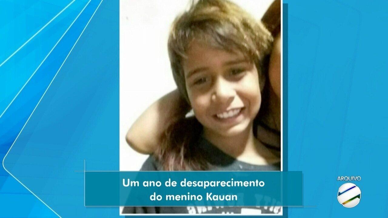 Desaparecimento de Kauan, em Campo Grande, completa 1 ano