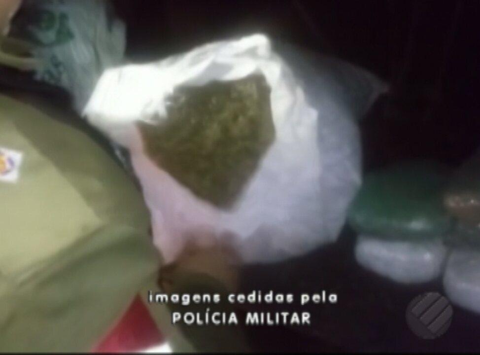 Polícia apreende 15 kg de maconha na zona rural de Tailândia, no Pará
