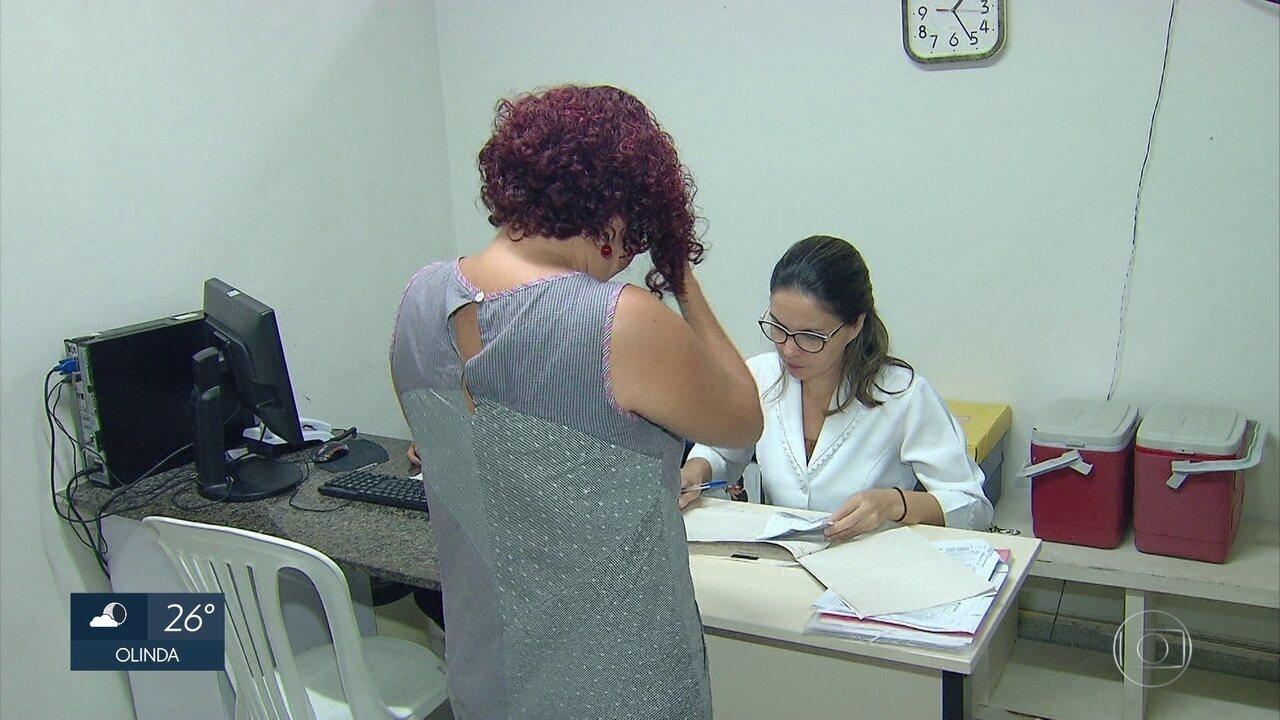 Postos de saúde do Recife aplicam vacina contra gripe até o fim dos estoques de doses