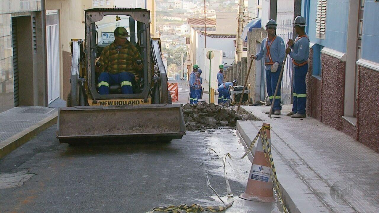 Centro de Varginha (MG) recebe obras de revitalização