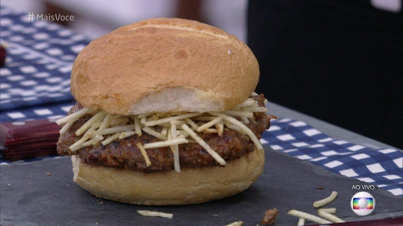 Hambúrguer Cuban Frita
