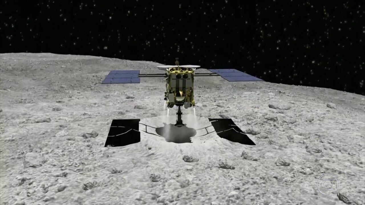 Nave japonesa chega a asteroide que pode informar sobre formação do sistema solar