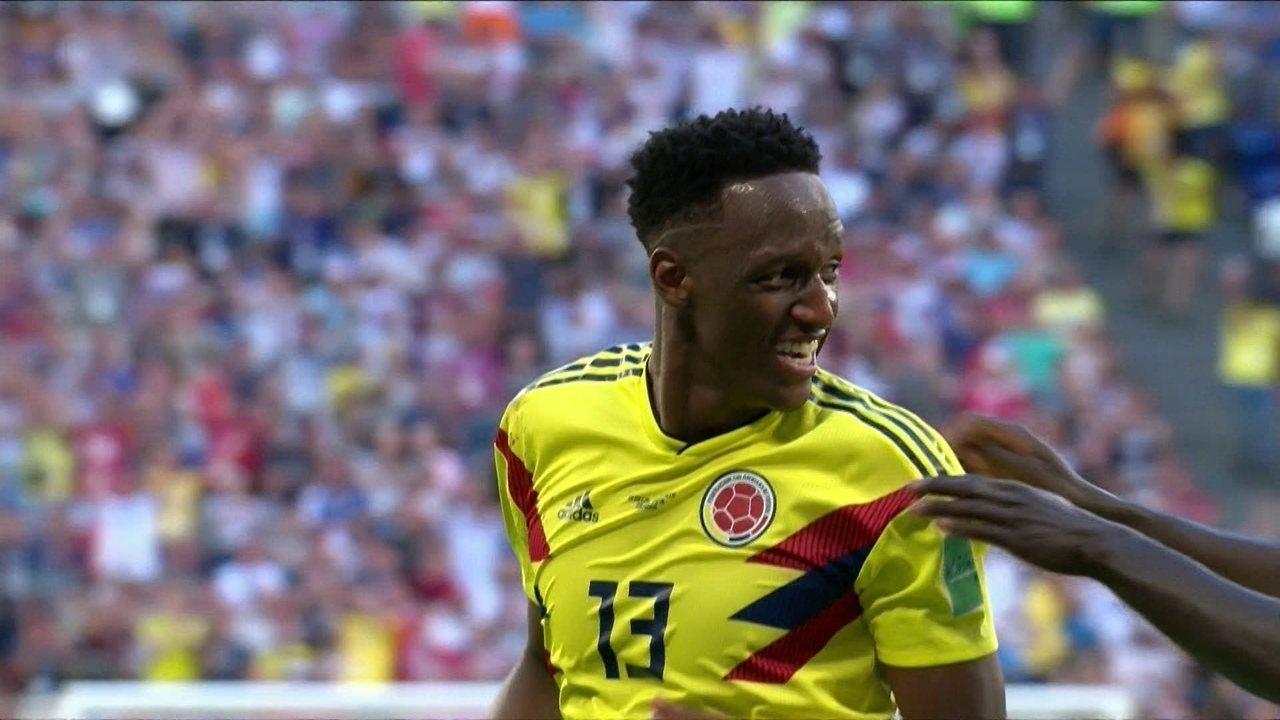 O gol de Senegal 0 x 1 Colômbia pela Copa do Mundo 2018