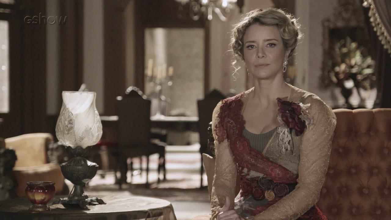 'Diários de Orgulho e Paixão': Josephine revela seus planos após voltar ao Vale do Café