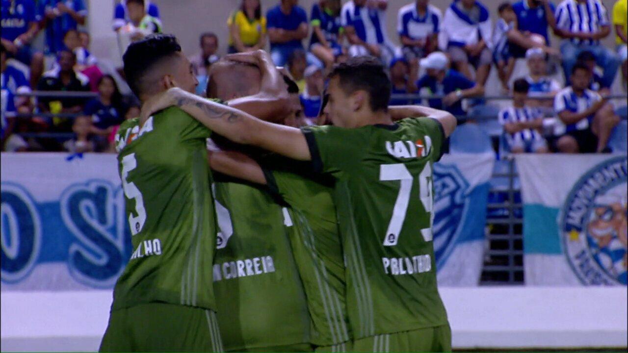 Os gols de CSA 2x2 Coritiba, pela 13ª rodada da Série B do Campeonato Brasileiro