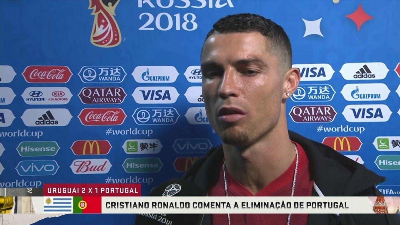 Cristiano Ronaldo fala após eliminação e deixa futuro na seleção em aberto