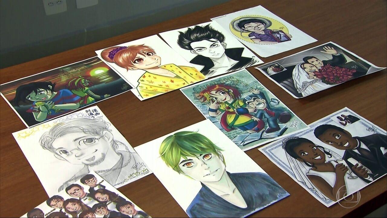 Jovens De Sp Aprendem Tecnica De Desenho Em Cursos De Manga Sao