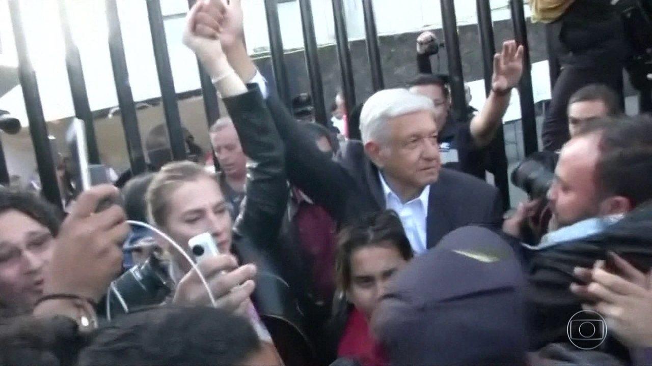 Esquerdista López Obrador é eleito presidente do México
