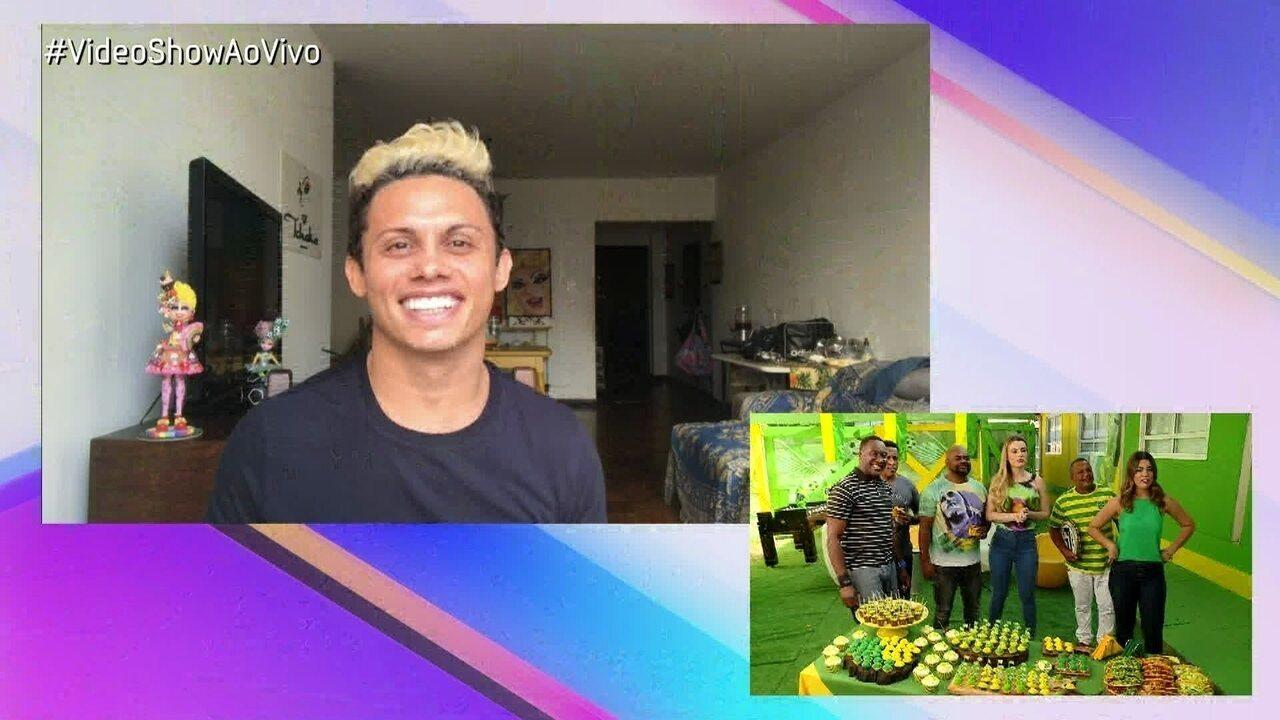 Silvero Pereira fala sobre sua participação no 'Show dos Famosos' e a final do quadro