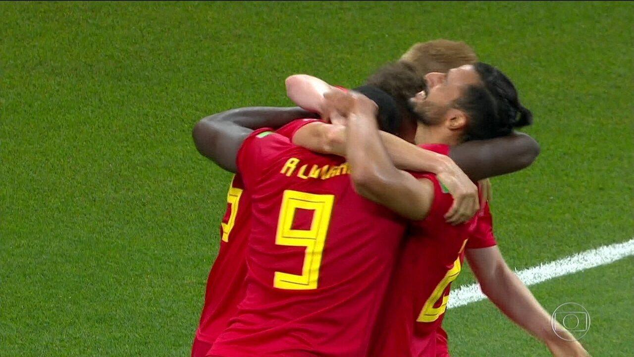 Bélgica vence Japão de virada e vai enfrentar o Brasil nas quartas de final