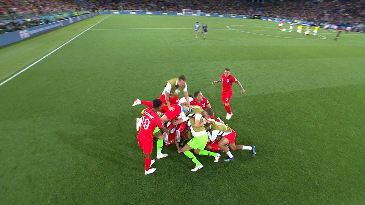 Colômbia 1 (3) x (4) 1 Inglaterra - Melhores Momentos